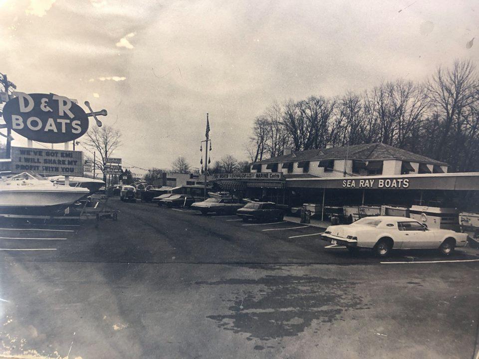 Original D&R Boat World Parking Lot
