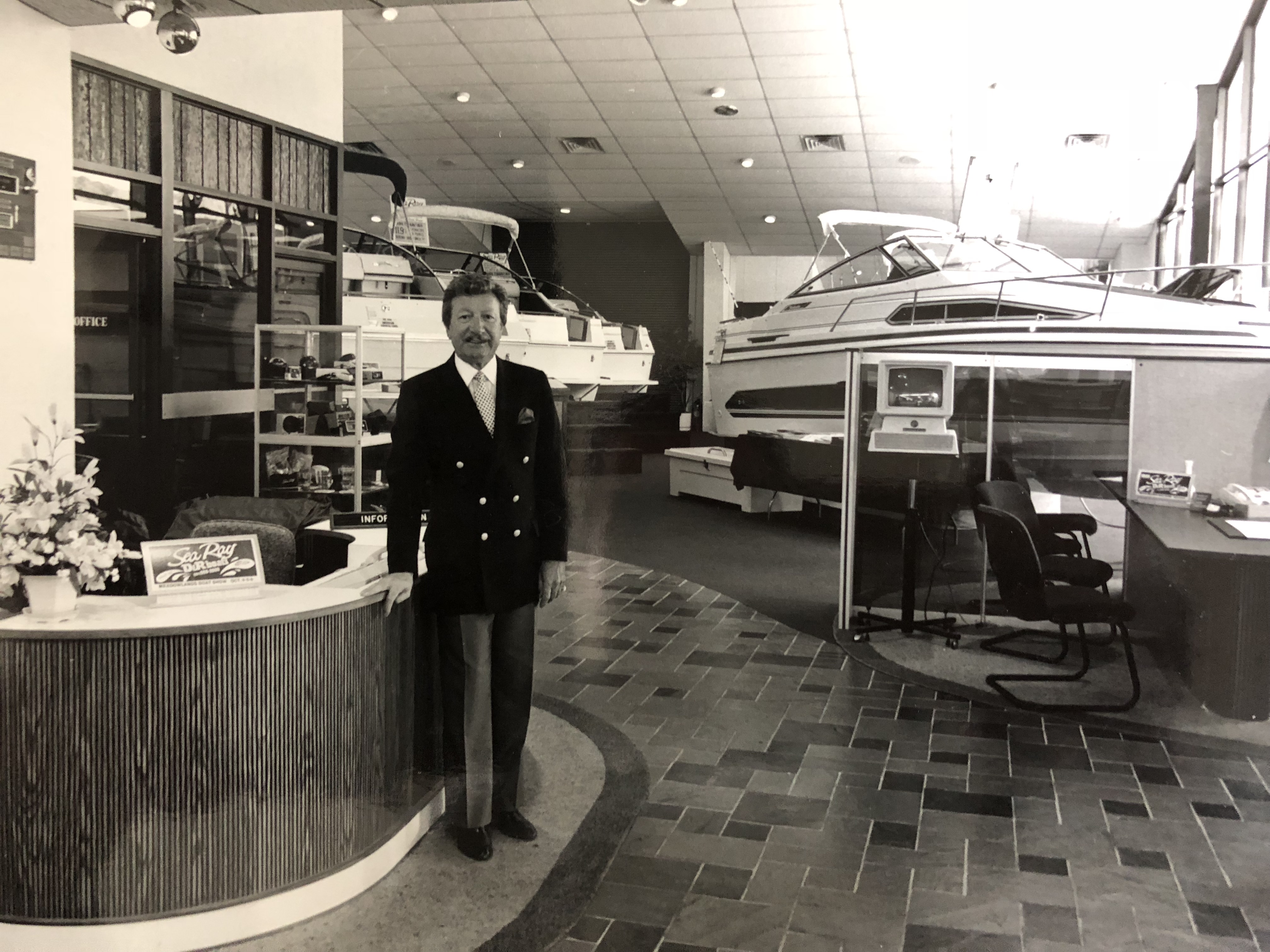 Dominic J Barone, D&R Boat World Founder
